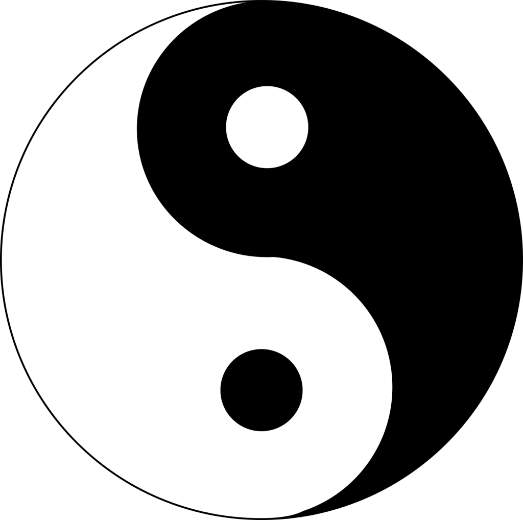 Yin und Yang Symbol der TCM
